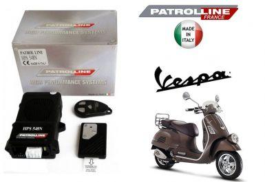 VESPA LX/LXV - Alarme & Anti Bike Jacking Patrol Line HPS548N