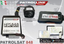 PATROLSAT 848 - Alarme et Traceur GPS Antivol Anti car jacking