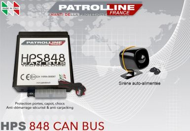Alarme CAN BUS HPS848