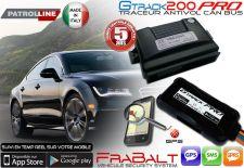 Alarme et Traceur Antivol GPS - Gtrack 200 CAN BUS