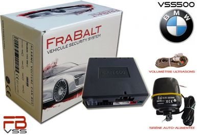 Alarme BMW Série 3 -  FraBalt VSS-500 CAN BUS