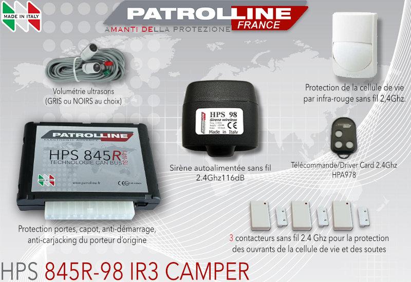 Alarme Camping Car