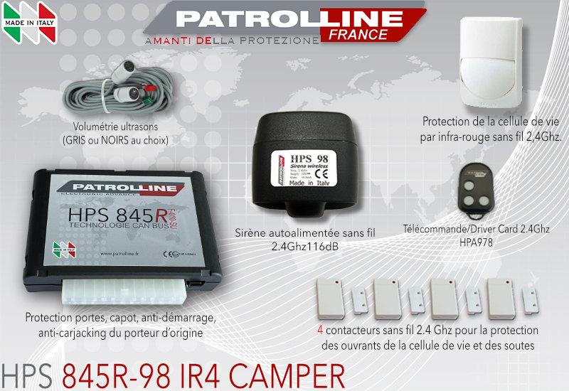 Alarme Camping Car 845R-DC-IR4