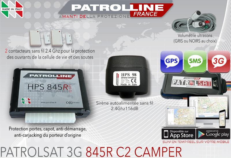 Alarme GPS Camping Car