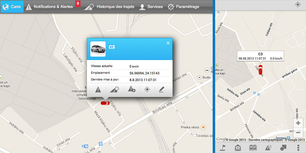 PATROLSAT : une plateforme internet gratuite et application smartphone