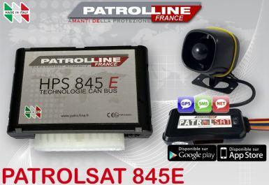 PATROLSAT 845E - Alarme et Traceur GPS Antivol Anti car jacking