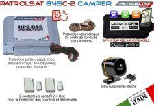 Alarme camping car PATROLSAT 845C-2 CAMPER - Alarme et Traceur GPS/GSM