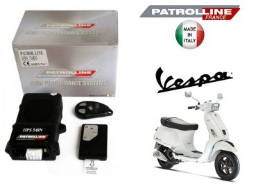 VESPA S - Alarme & Anti Bike Jacking Patrol Line HPS548N