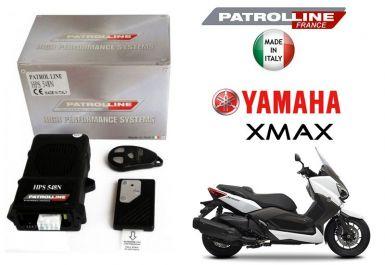 Yamaha XMAX 125/250, XMAX 400 - Alarme & Anti Bike Jacking Patrol Line HPS548N