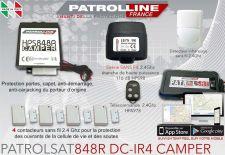 Alarme GPS Camping-Car SAT848DC-IR4