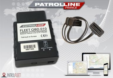 Traceur GPS PATROLSAT FLEET OBD 010 avec carte SIM Europe