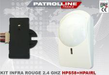 Kit détecteur INFRA ROUGE sans fil