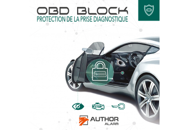 OBD BLOCK - PROTECTION DE LA PRISE OBD II