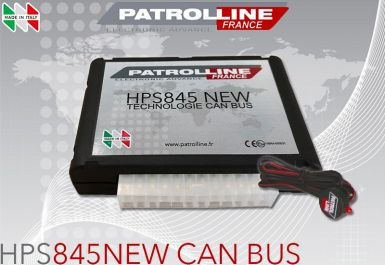 Alarme PATROLLINE HPS845 CAN BUS pour utilitaires VW Caddy, Crafter, Multivan, Transporter, T5