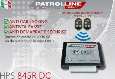 PATROLLINE HPS845R DC avec DRIVER CARD Anti Car Jacking