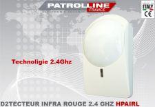 Kit détecteur INFRA ROUGE sans fil PATROLLINE